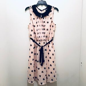 Dresses & Skirts - Pink Polka Dot Dress